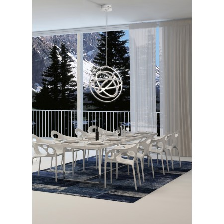 ^5741 PEND LAMP MED DIMMABLE WHITE LED 90W/3000К