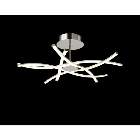 плафон 6030 Ceiling LED 42W/3000K (AIRE) Chrom/Silver