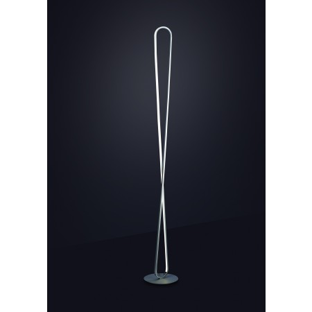 5987 FLOOR LAMP SILVER LED 50W/3000K Dimmable
