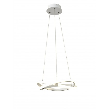 5993 PENDANT 30W WHITE LED 30W/2800K