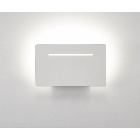 6253 WHITE ALUMINIUM LED 8W 3000K