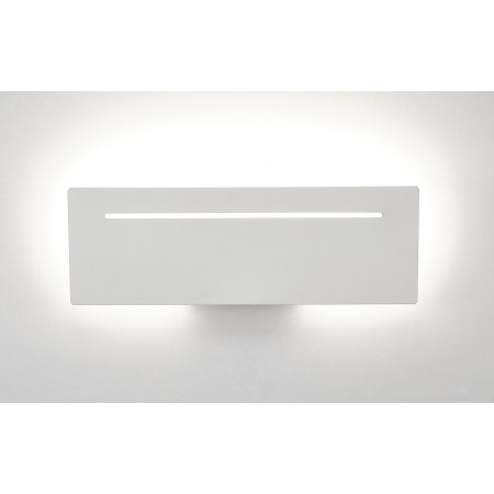 6254 WHITE ALUMINIUM LED 16W 3000K