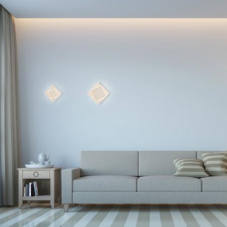 6425 LED WALL 12W/3000К WHITE