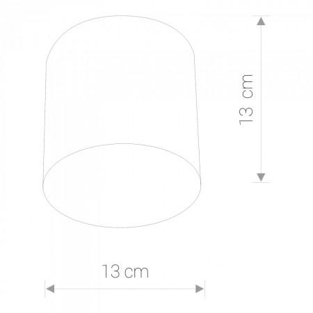 6527 POINT PLEXI LED SILVER M