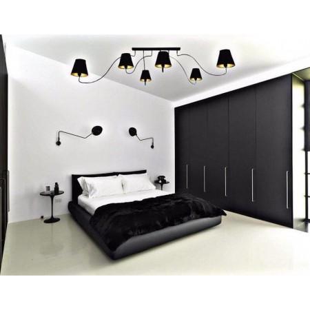 @6560 SWIVEL BLACK VI plafon