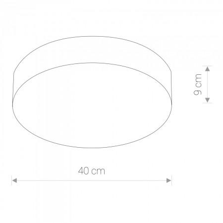 плафон 6727 ARENA GRAPHITE LED