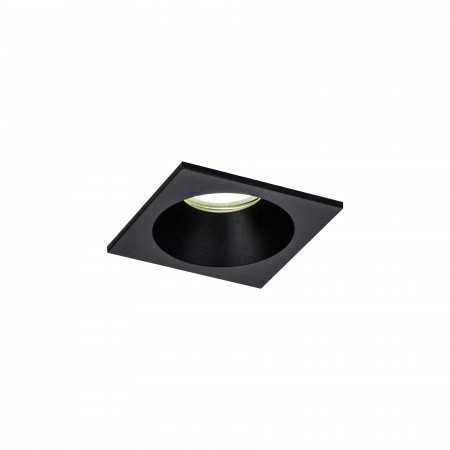 6813 BLACK SPOT RECESSED SQUARE BLACK