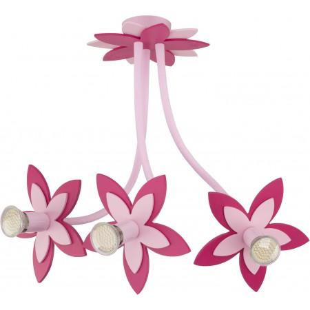 ^6894 FLOWERS  PINK III zwis