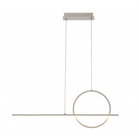 полилей 7192 LED 30W/3000K PENDANT LAMP WHITE