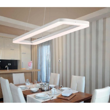 @8126 LED 60W/3200K White Pendant