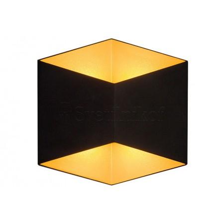 аплик, външна лампа 8141 Black/Gold