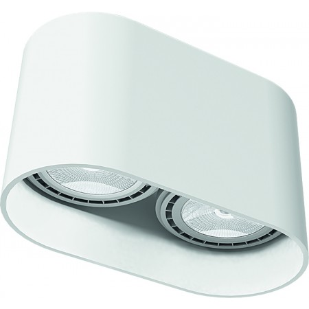 9241 OVAL WHITE