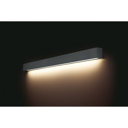 9616 STRAIGHT WALL LED GRAPHITE L
