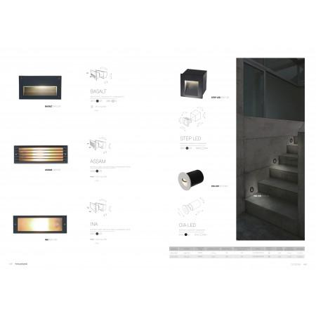 аплик, външна лампа 6908 STEP  LED WHITE