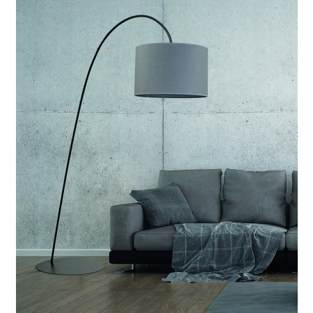 лампион / правостояща лампа 6818 ALICE gray I podlogowa