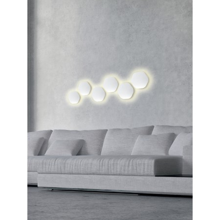 C0105 LED 144*135mm Alu/White 6W/3000K