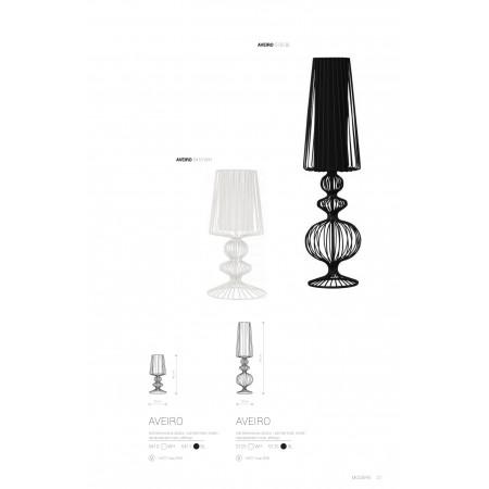 настолна лампа 5125 AVEIRO L white I biurkowa