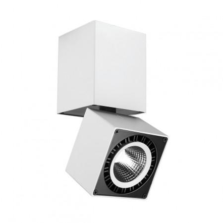 C0087 LED COB 76,2*76,2*163mm 12W/3000K Alu/White