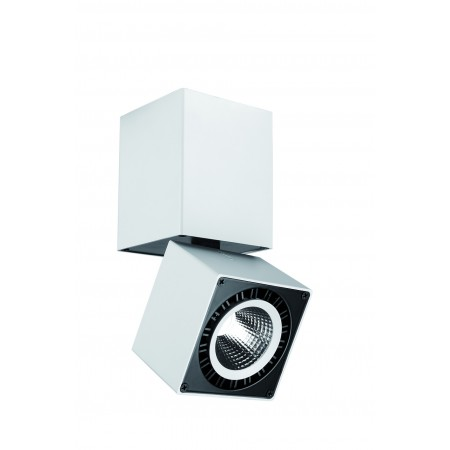 C0088 LED COB 76,2*76,2*163mm 12W/4000K Alu/White