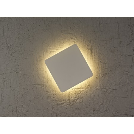 C0103 LED 130*130mm Alu/White 6W/3000K