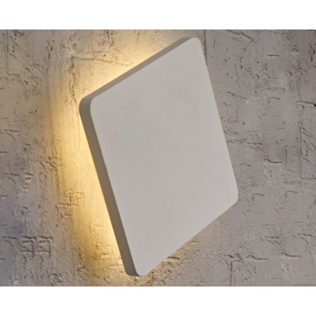 C0114 LED 180*180mm Alu/Silver 12W/3000K