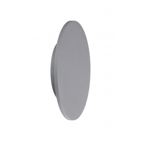 C0118 ROUND LED 6W/3000K Epistar WALL LAMP SILVER