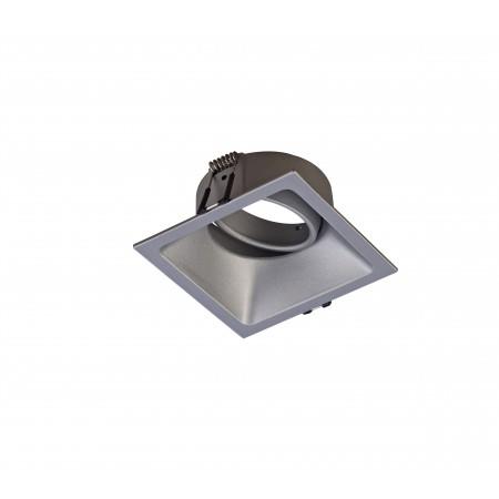 C0163 92*92*40mm 80*80 GU10 50W incl. Silver