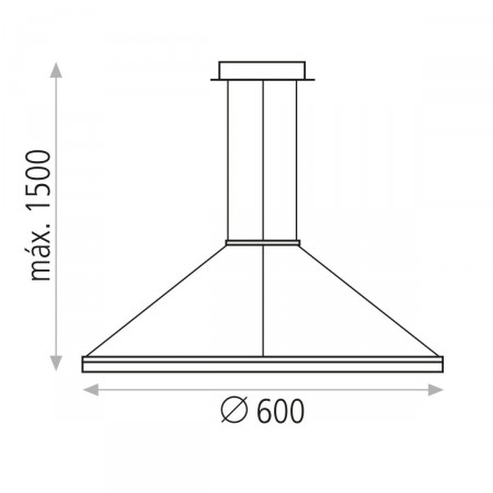 C344410B (3444/1 32W/3200K White Pendant)
