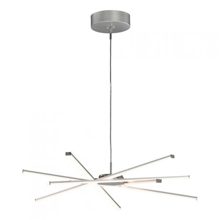 5913 Pend LED 42W/3000K Dimmable STAR Chrom/Silver