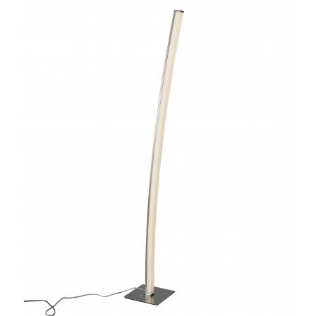 лампион / правостояща лампа ^5104 Floor LED 23W/3000K Satin-Nickel/Chrom Dimma