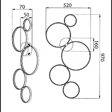 MOD448-CL-5-45-W