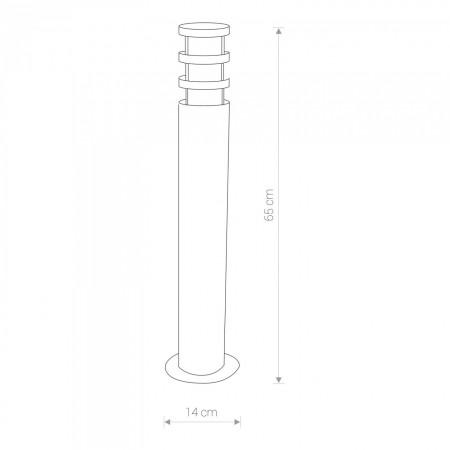 лампион / правостояща лампа, външна лампа 4446 NORIN I stojaca