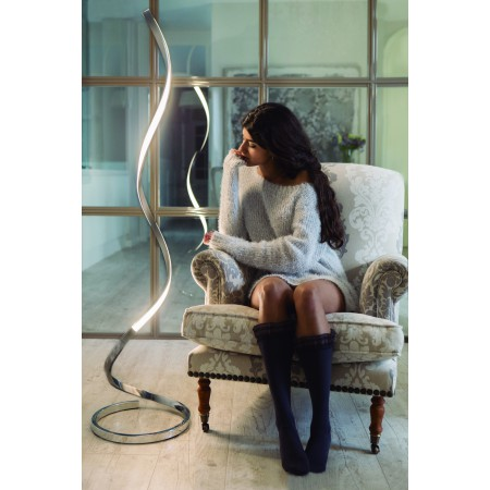 5363 NUR BROWN OXIDE FLOOR LAMP 20W/2800K Dimmable