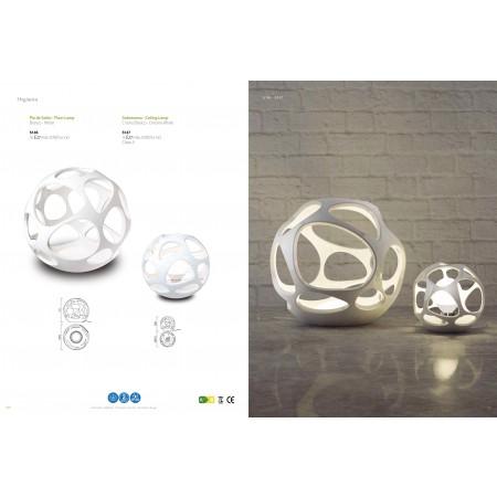 настолна лампа ^5147 TL Small Chrom/White 1xE27 20W (no inc)