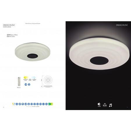 5878 CEILING LED 60W/3000-6500K SPEAKER WHITE