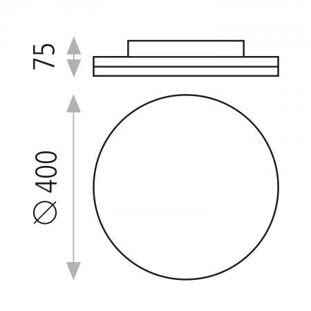 P344760B (3447/40 40W/3000K White)
