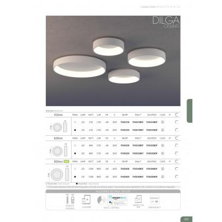 P345010B (3450/45 27W/3200K White Plafon)