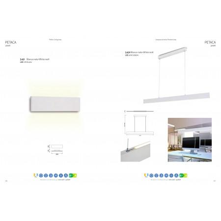 5490 Pend SANDY WHITE LED 40W/3000K