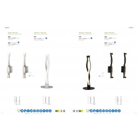 настолна лампа 5402 TL 6W/2800K BROWN OXIDE 540 LMS