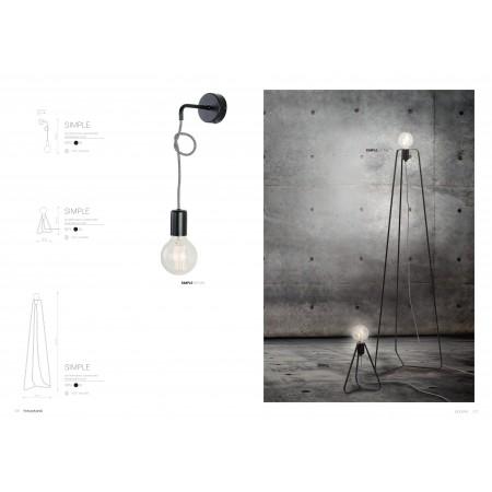 лампион / правостояща лампа ^6974 SIMPLE podlogowa