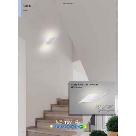 аплик C0089 LED 315*90*70mm Alu/Matt White 6W/3000K
