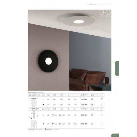 P377310BDT (3773/50 26W/3000K White Ceiling Dim Tr