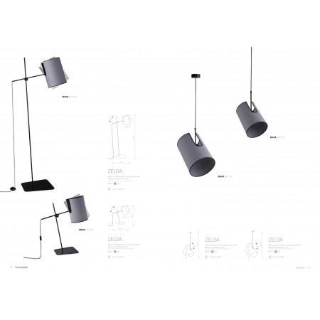 настолна лампа ^6012 ZELDA I biurkowa
